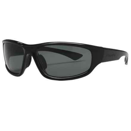 Coyote Eyewear Baja Sunglasses - Polarized in Black/Grey - Closeouts