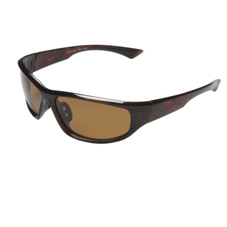Coyote Eyewear Baja Sunglasses - Polarized in Brown/Copper