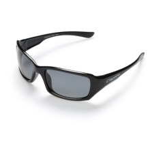 Coyote Eyewear Belize Sunglasses - Polarized in Black/Grey - Closeouts