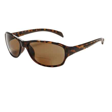 Coyote Eyewear BP-14 Reader Sunglasses - Polarized, Bi-Focal in Tortoise W/ Brown Lens - Closeouts