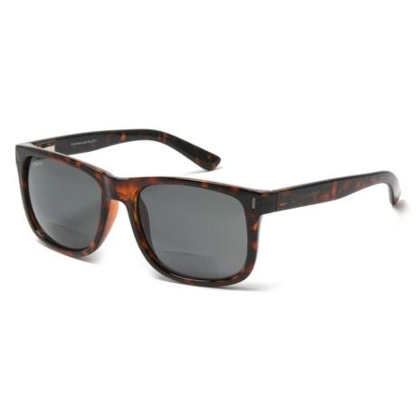 Coyote Eyewear BP-15 Bifocal Reader Glasses - Polarized (For Men) in Tortoise/Grey