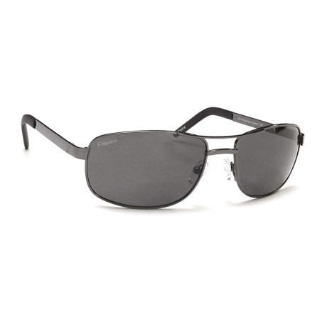 Coyote Eyewear BP-16 Readers Sunglasses - Polarized, Bi-Focal in Gunmetal/Gray