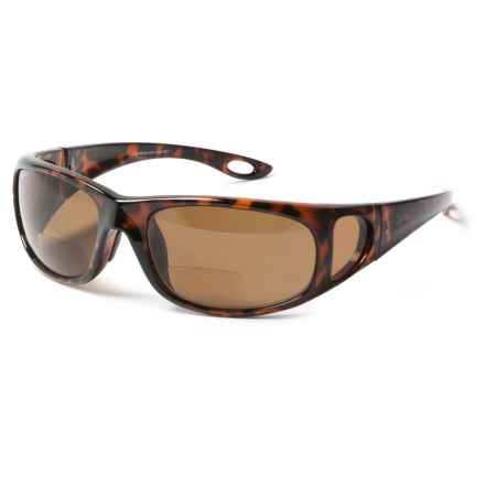 Coyote Eyewear BP-17 Reader Sunglasses - Polarized, Bi-Focal in Tortoise/Brown - Closeouts