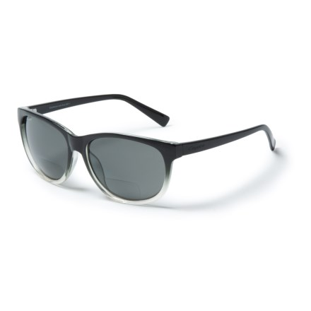 9d1cd4456c8 Coyote Eyewear BP-18 Bifocal Reader Sunglasses - Polarized (For Women) in  Black