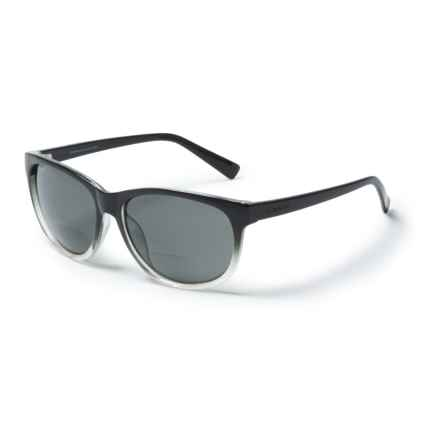 6bc3620f66 Coyote Eyewear BP-18 Bifocal Reader Sunglasses - Polarized (For Women) in  Black
