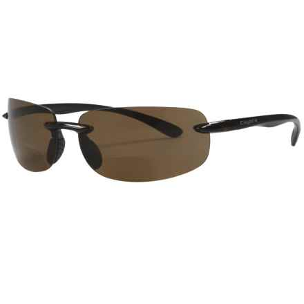 Coyote Eyewear BP-5-A Sunglasses - Polarized, Bi-Focal in Tortoise/Brown - Closeouts