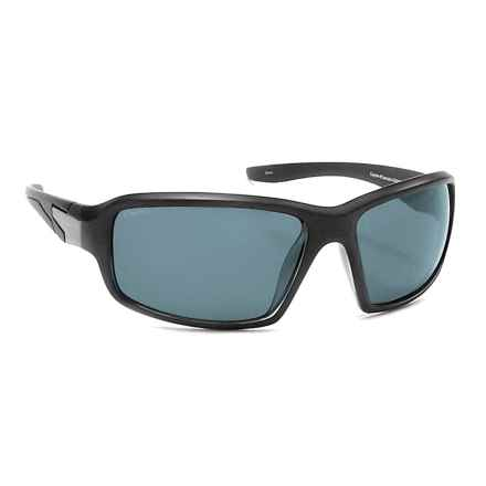 Coyote Eyewear Cascade Sunglasses - Polarized in Matte Black/Gray - Closeouts