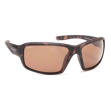 Coyote Eyewear Cascade Sunglasses - Polarized in Matte Tortoise/Brown - Closeouts
