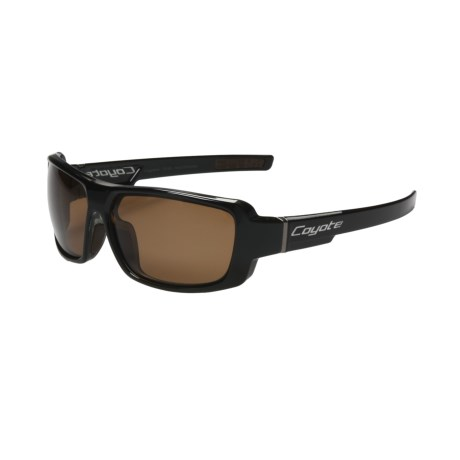 Coyote Eyewear Chaos Sunglasses - Polarized in Black/Brown