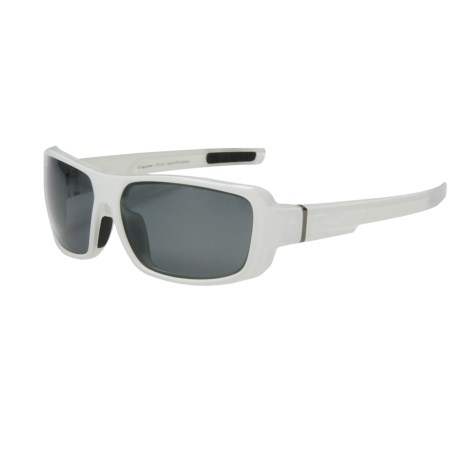 Coyote Eyewear Chaos Sunglasses - Polarized in White/G-15