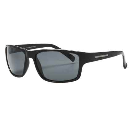Coyote Eyewear Drifter Sunglasses - Polarized in Black/Grey - Closeouts