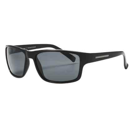 Coyote Eyewear Drifter Sunglasses - Polarized in Black/Grey - Closeouts