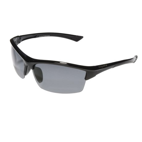 Coyote Eyewear Glacier Sunglasses - Polarized in Black/Grey