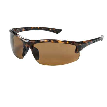 Coyote Eyewear Glacier Sunglasses - Polarized in Tortoise/Brown - Closeouts