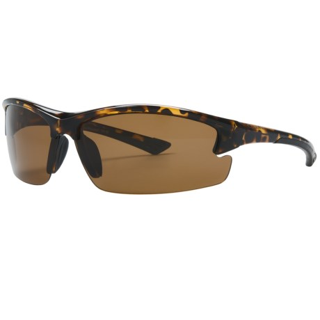 Coyote Eyewear Glacier Sunglasses - Polarized in Tortoise/Copper