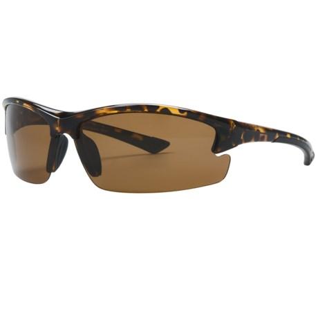 Coyote Eyewear Glacier Sunglasses - Polarized in Tortoise/Copper
