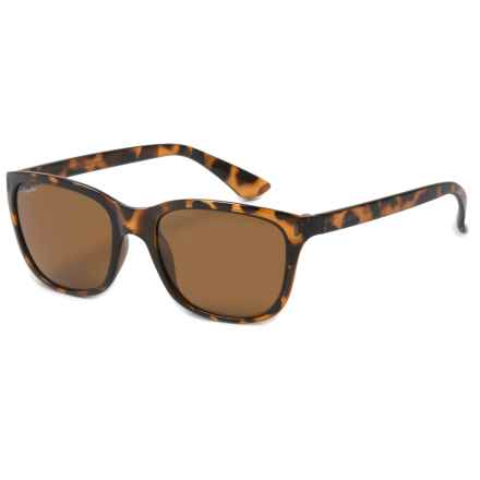 Coyote Eyewear Isla Sunglasses - Polarized (For Women) in Dark Tortoise/Brown - Overstock