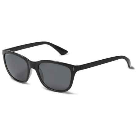 Coyote Eyewear Isla Sunglasses - Polarized in Black/Grey - Closeouts