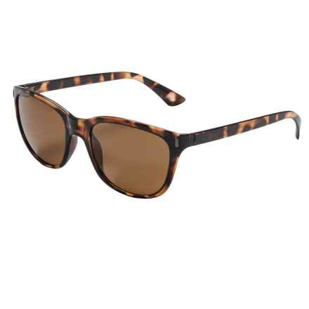 Coyote Eyewear Isla Sunglasses - Polarized in Dark Tortoise/Brown - Closeouts