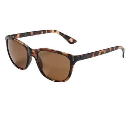 Coyote Eyewear Isla Sunglasses - Polarized in Dark Tortoise/Brown - Closeouts