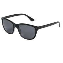 Coyote Eyewear Isla Sunglasses - Polarized in Matte Black/Grey - Closeouts