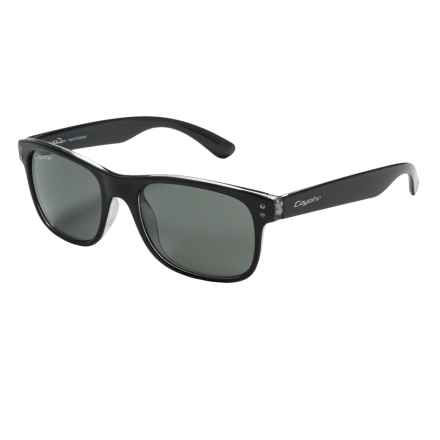 Coyote Eyewear Jake Sunglasses - Polarized in Black/G15 - Closeouts