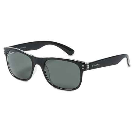 Coyote Eyewear Jake Sunglasses - Polarized in Black/Gray - Closeouts