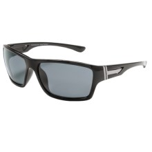 Coyote Eyewear Key West Sunglasses - Polarized in Black/Gray - Closeouts