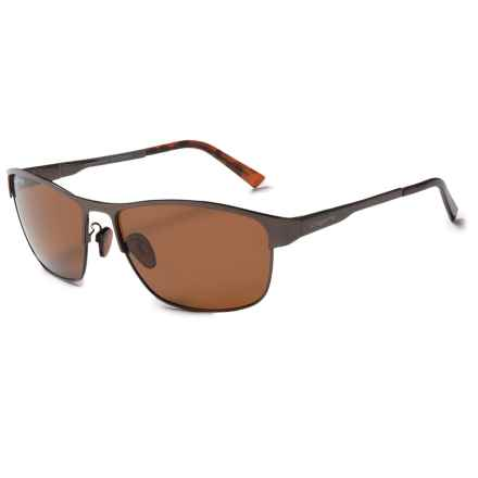 Coyote Eyewear MP-07 Sunglasses - Polarized in Dark Brown/Brown - Closeouts