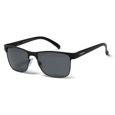 Coyote Eyewear MP-10 Sunglasses - Polarized in Black/Gunmetal/Gray - Closeouts