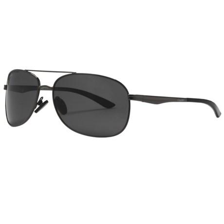 Coyote Eyewear MP-3 Sunglasses - Polarized in Gunmetal/Grey