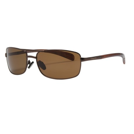 Coyote Eyewear MPX-9 Sunglasses - Polarized in Brown/Brown