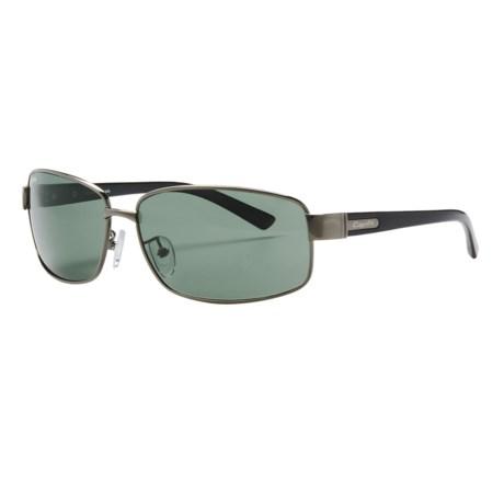 Coyote Eyewear PZG-01 Sunglasses - Polarized, Glass Lenses in Gunmetal/G-15