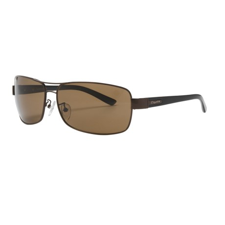 Coyote Eyewear PZG-03 Sunglasses - Polarized in Dark Brown/B-15