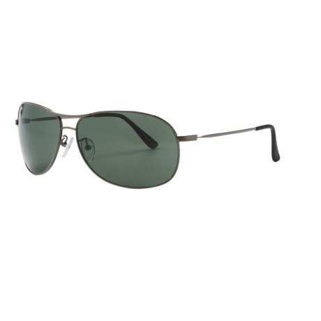 Coyote Eyewear PZG-04 Sunglasses - Polarized, Glass Lenses in Gunmetal/G-15