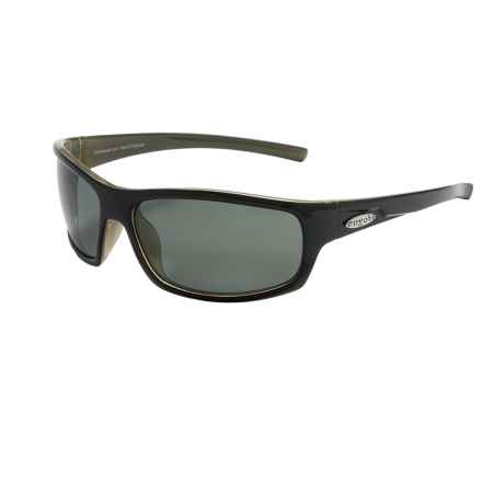 Coyote Eyewear Razor Sunglasses - Polarized in Black/Grey - Closeouts