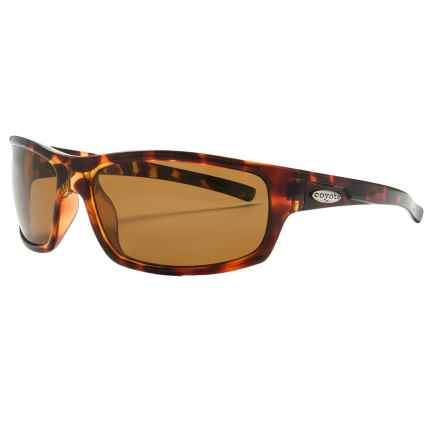 Coyote Eyewear Razor Sunglasses - Polarized in Tortoise/Brown - Closeouts