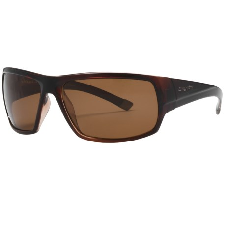 Coyote Eyewear Rebel Sunglasses - Polarized in Brown/Brown