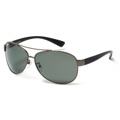 Coyote Eyewear Shark Gunmetal-G15 Sunglasses - Polarized Glass Lenses in Gunmetal