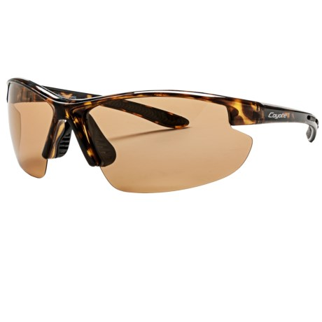Coyote Eyewear Shifter Sunglasses - Polarized, Photochromic in Tortoise/Brown