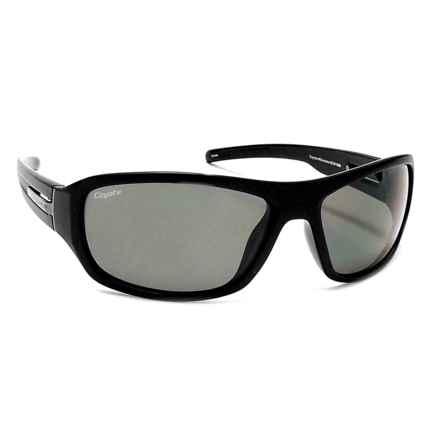 Coyote Eyewear Sonoma Sunglasses - Polarized in Matte Black/G15 - Closeouts