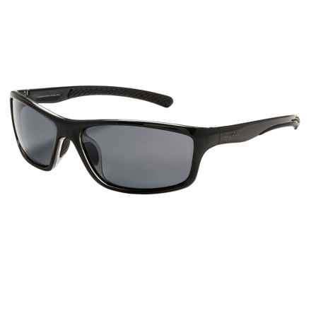 Coyote Eyewear Spark Sunglasses - Polarized in Black/Grey - Closeouts