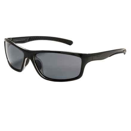 Coyote Eyewear Spark Sunglasses - Polarized in Black/Grey - Closeouts