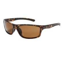 Coyote Eyewear Spark Sunglasses - Polarized in Tortise/Brown - Closeouts