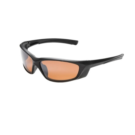 Coyote Eyewear Speed II Sunglasses - Polarized in Black/Rose Flash