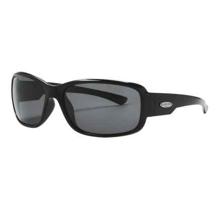 Coyote Eyewear Undertow Sunglasses - Polarized in Black/Grey - Closeouts