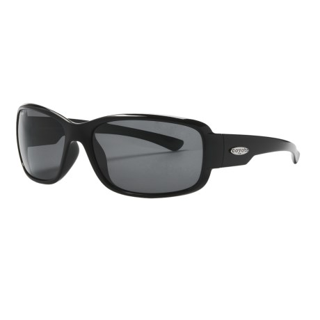 Coyote Eyewear Undertow Sunglasses - Polarized in Black/Grey