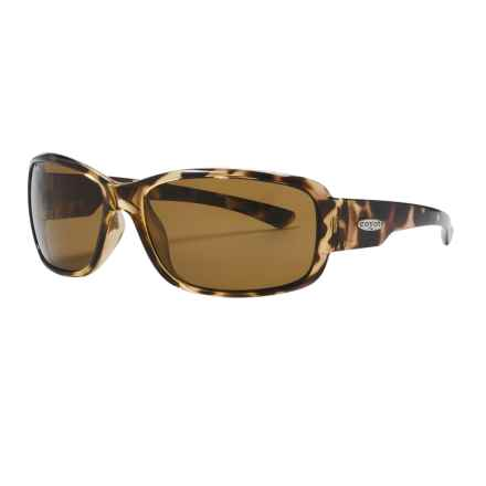 Coyote Eyewear Undertow Sunglasses - Polarized in Tortoise/Brown - Closeouts