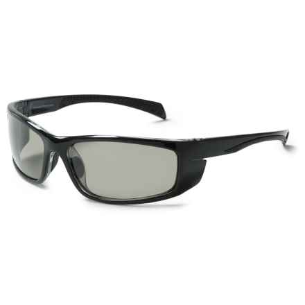 Coyote Eyewear Volt Sunglasses - Polarized in Black/Grey - Closeouts
