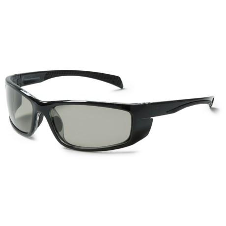 Coyote Eyewear Volt Sunglasses - Polarized in Black/Grey
